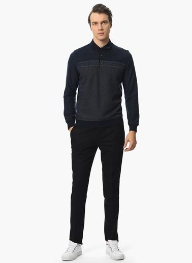 Yaka Detaylı Sweatshirt-Network